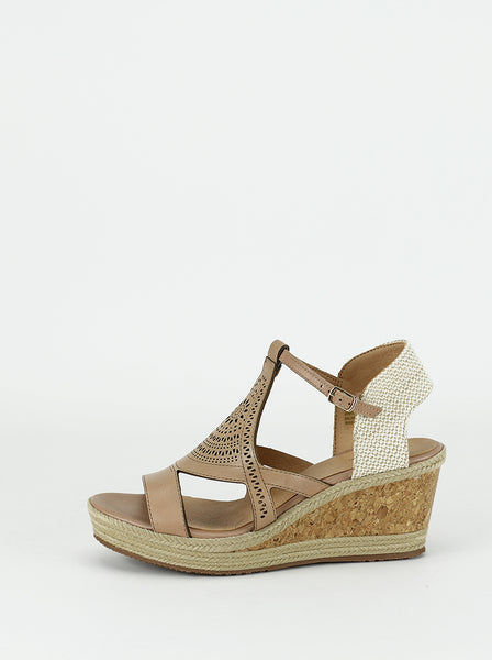 Fire - Ladies Comfort Sandals in natural