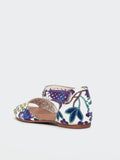 Astra - White Floral Comfort Summer Sandal By Step On Air