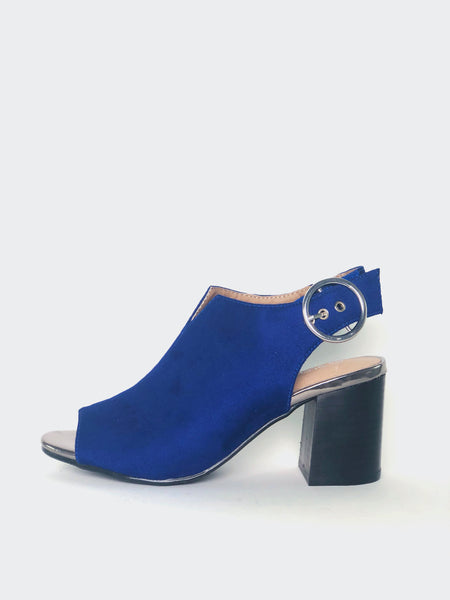 Bailey - Blue Comfortable Ankle Boot by Step On Air