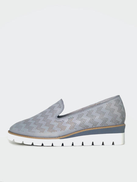 Camper - Grey Comfort Platform Wedge By Step On Air