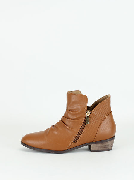 Craven - Comfortable Ladies Ankle Boot in Tan By Step On Air