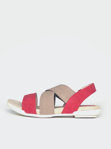 Enchant - Red Comfort Sandals By Step On Air