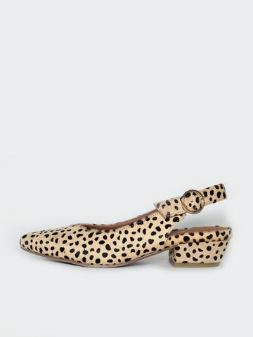 Evolve - Leopard Print Stylish Comfort Work Shoe