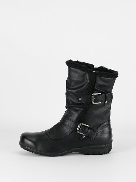 Envoy - Step on Air Winter Ankle Boot in Black