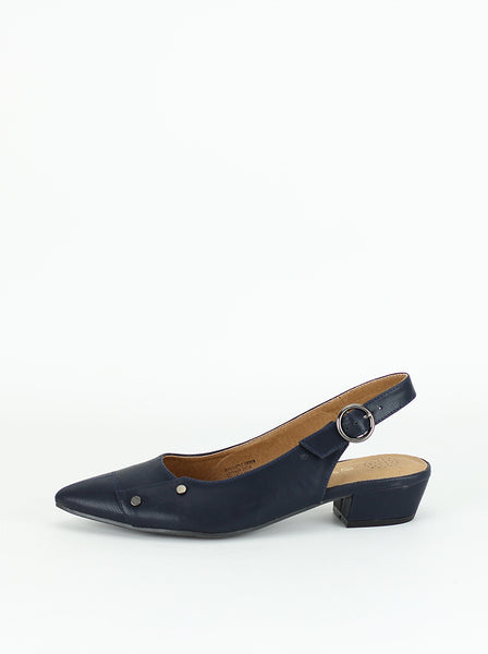 Ever - Ladies Comfort Work Sandals in navy