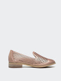 Flavour - Rose Gold Ladies Casual Flat by Step on Air