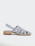 Flicker- Denim Ladies Comfort Sandal by Step on Air
