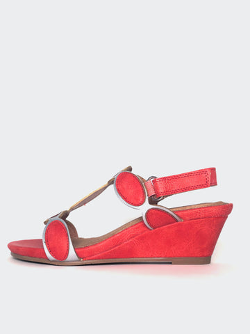 Holiday - Coral Comfortable Wedge Sandal By Step On Air