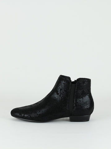 Hunter - black ladies comfort ankle boots