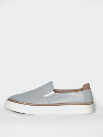 Jojo - Comfortable Leather Slip-On Shoe By Step on Air