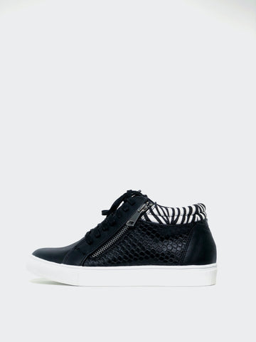 Karma - Black Comfort Sneaker by Step On Air