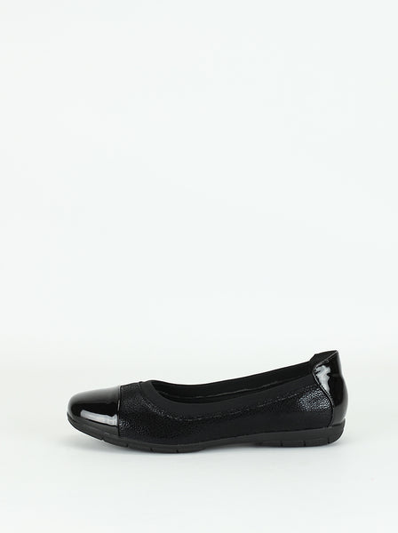 Ladley - Black Comfort Shoe By Step on Air