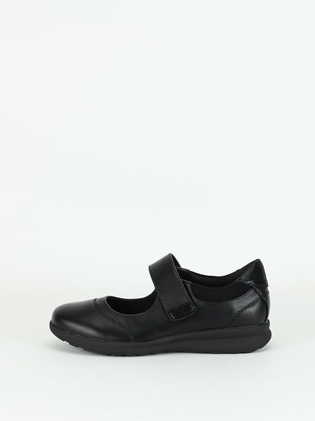 Laff - Black Comfort Shoe By Step on Air