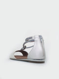 Medusa - White Sandal By Step On Air
