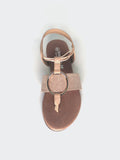 Musk - Comfortable Nude Sandal By Step On Air