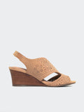 Nikki - Natural Wedge Sandal by Step On Air