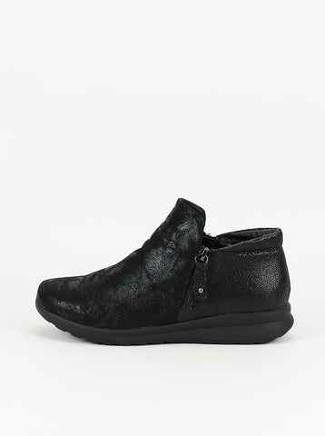 Respect Black Comfort Ankle Boot by Step on Air