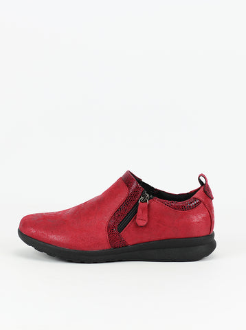Roll Red Comfort Ankle Boot by Step on Air