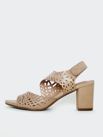 Spain - Comfort Block Heel Sandal by Step On Air