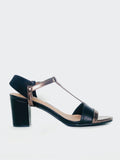 Sphinx - Black Comfort Sandal By Step On Air