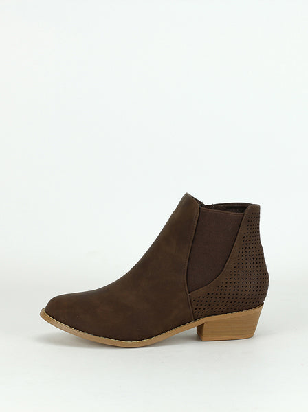 Sideling - Comfort Ankle Boot in brown