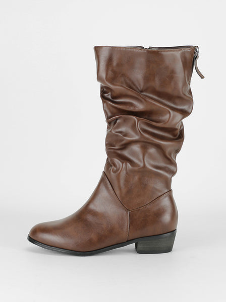 Skye - Brown Comfort Winter Boot By Step On Air
