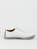 Turk Ladies Comfort Sneaker in White