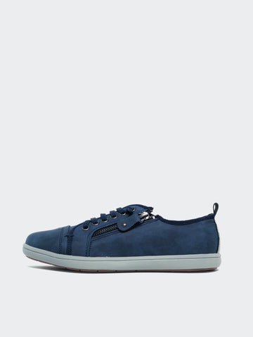 Zappo - Navy Casual Comfort Sneaker by Step on Air