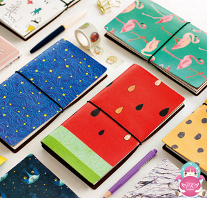 Travel Notebook Kawaii