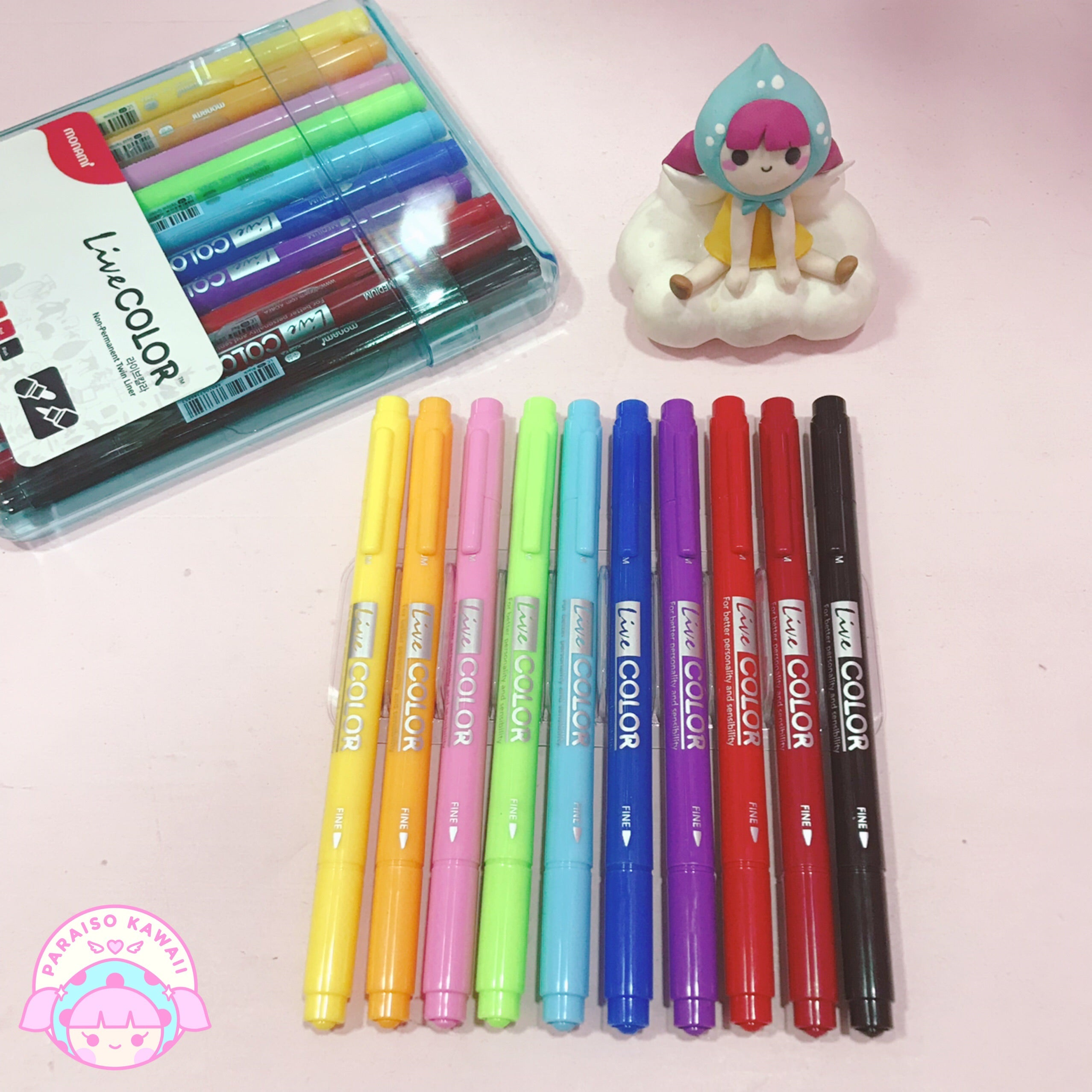 Monami Live Color Set 10