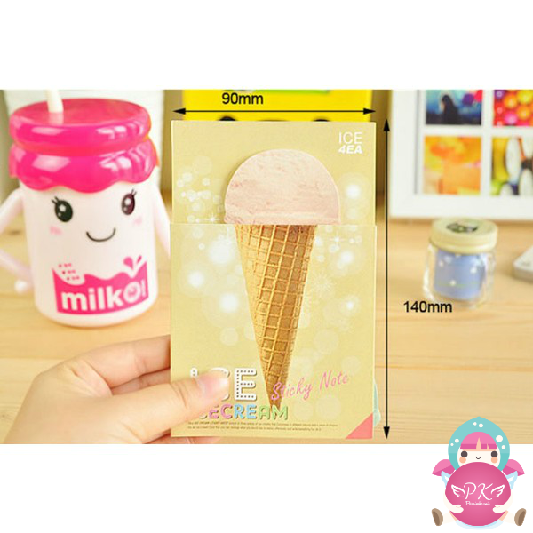 Post-it Helado Realista