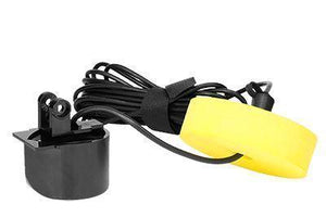 float tube fish finder transducer