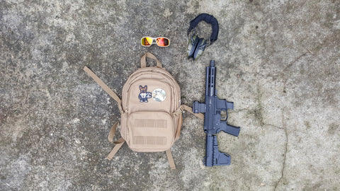 Baby Bertha One Pistol Concealed Carry Backpack