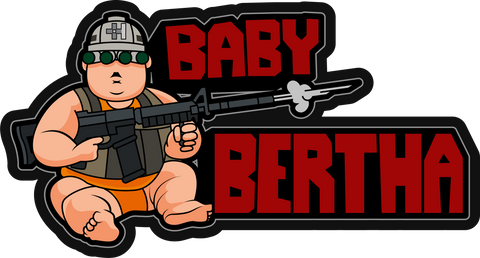 Baby Bertha One Pistol Concealed Carry Backpack Patch