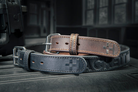 HACKETT Leather Gun Belts