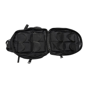 Black Sling Range Backpack Inside TwoView