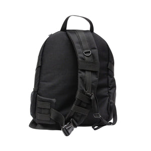 Black Sling Range Backpack Back View