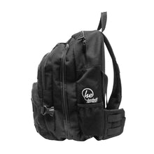 Black Sling Range Backpack Side View