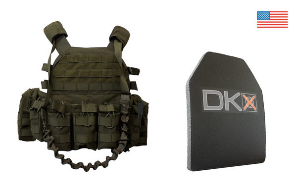 Alpha One Plate Carrier / Level III+ Armor Combo