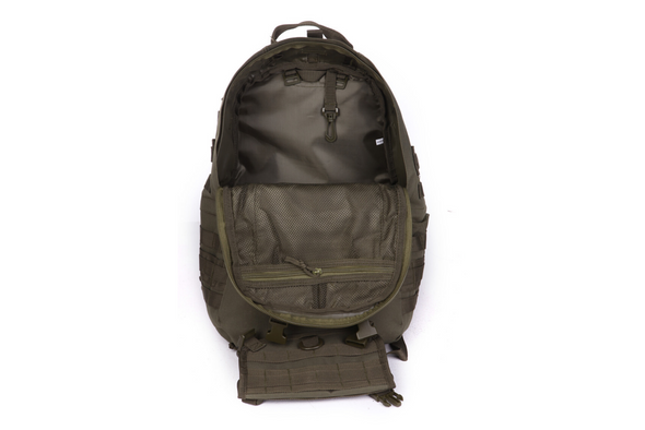 Rifleman Patrol Pack Front Inside OD Green