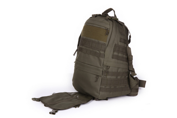 Rifleman Patrol Pack Side Open Pouch OD Green