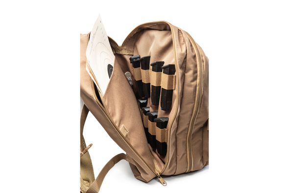 Little Bertha Two Pistol Range Backpack