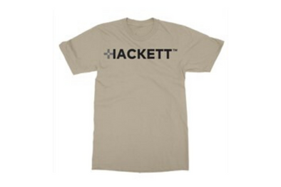 HACKETT Logo Gildan Men's T-shirt