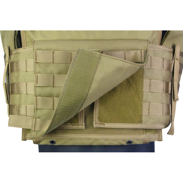 Delta One Plate Carrier / Level III+ Armor Combo + Side Plates - Hackett Equipment