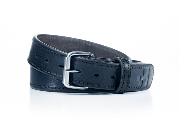 Primo Leather Gun Belt (Black)