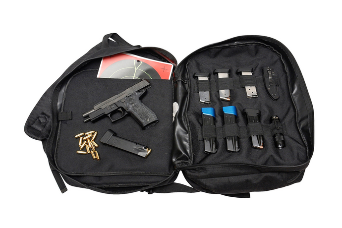 EDC Two Pistol Sling Range Backpack