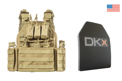 Mission Critical Plate Carrier / Level III+ Armor Combo