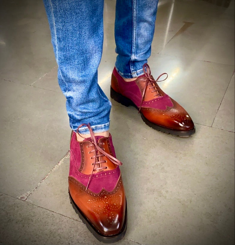 The Rodeo - Semi Casual brogues
