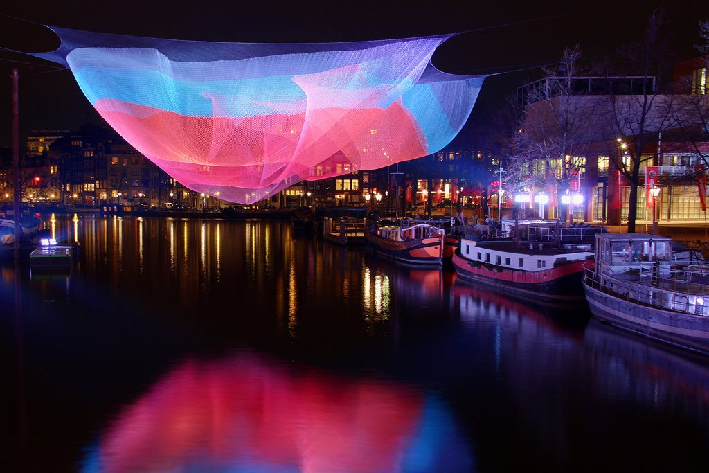 Be Amazed In A World Full Of Lights : Amsterdam Light Festival