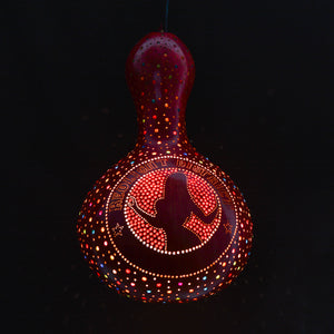 Pumpkin Lamp - Red Light District